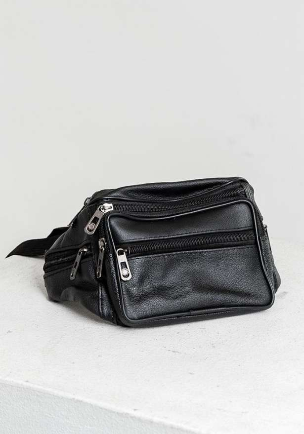 Leather Fanny Pack Waist Bag