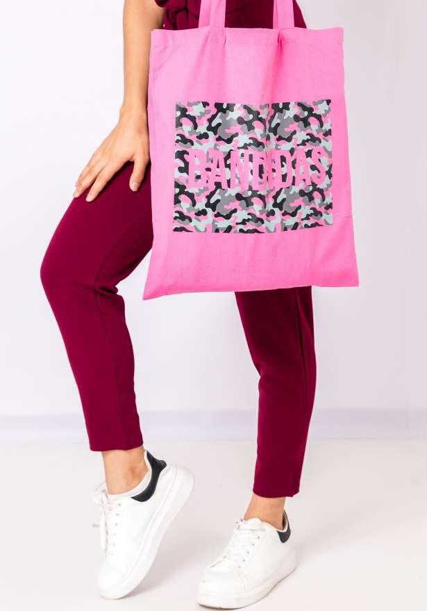 Bandidas Tote Bag Camo In Pink