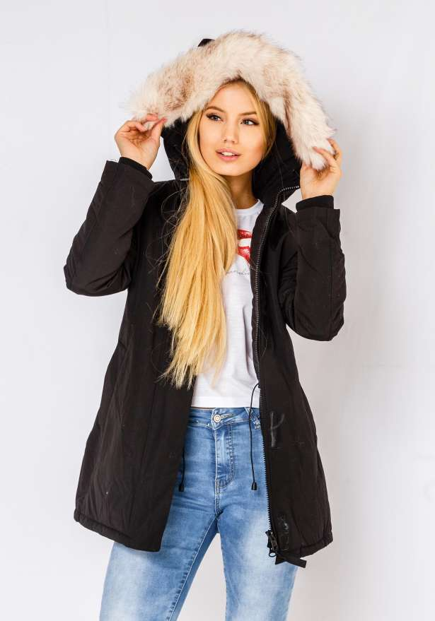 Alaska Winter Jacket In Black