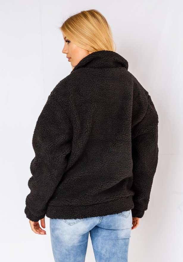 Natalie Puffy Jacket In Black