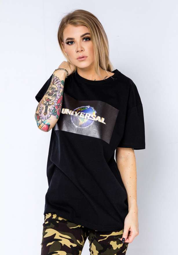 Universal T-Shirt In Black