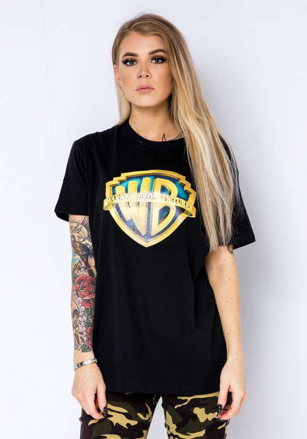 Warner Bros T-Shirt In Black