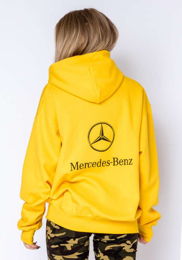 Mercedes B Hoodie In Yellow