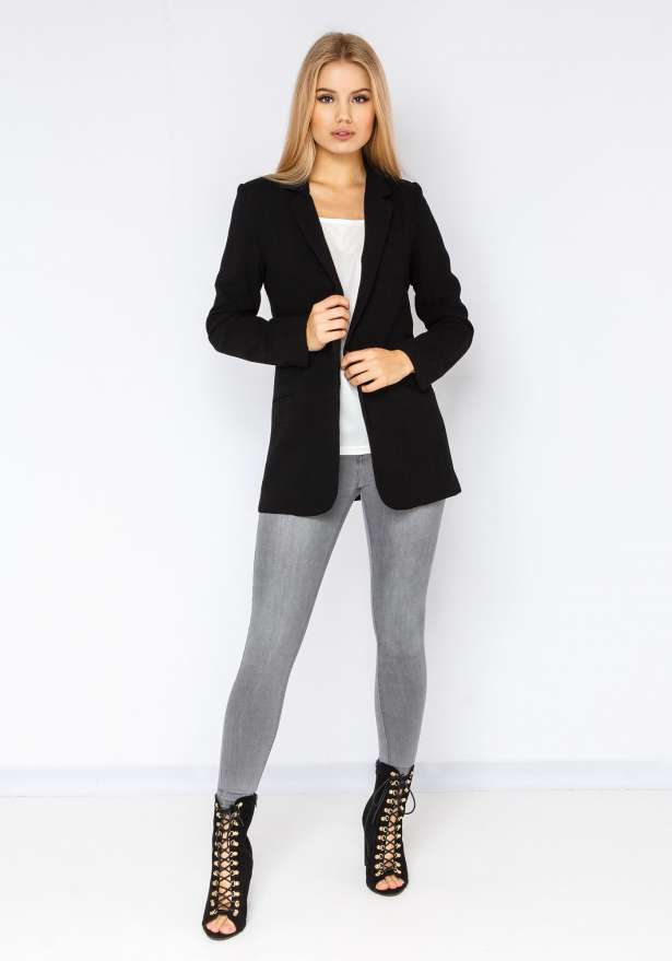 Blazer Jacket In Black