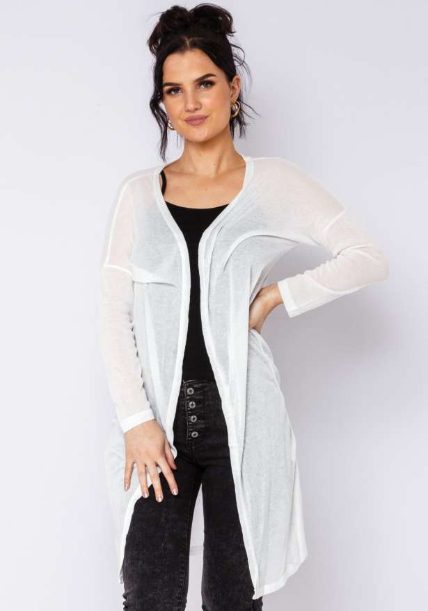 Super Chill Cardigan in White