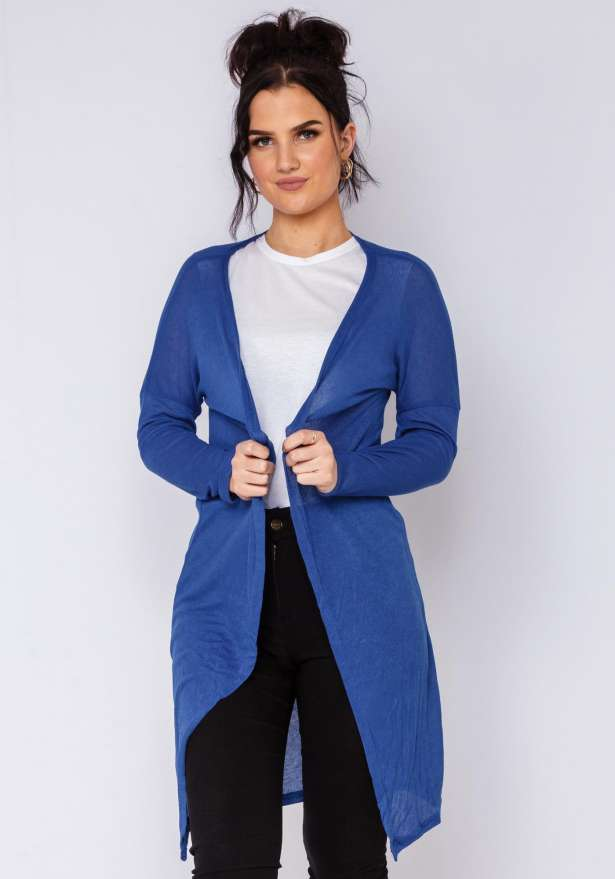Super Chill Cardigan In Blue