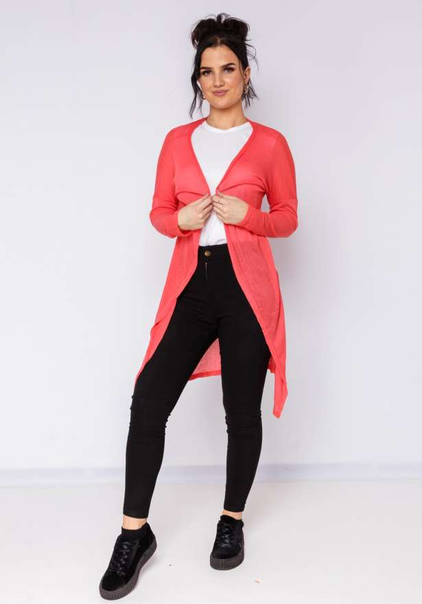 Super Chill Cardigan In Pink