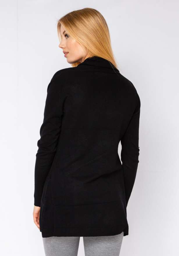 Cardigan Soft Feel In Black