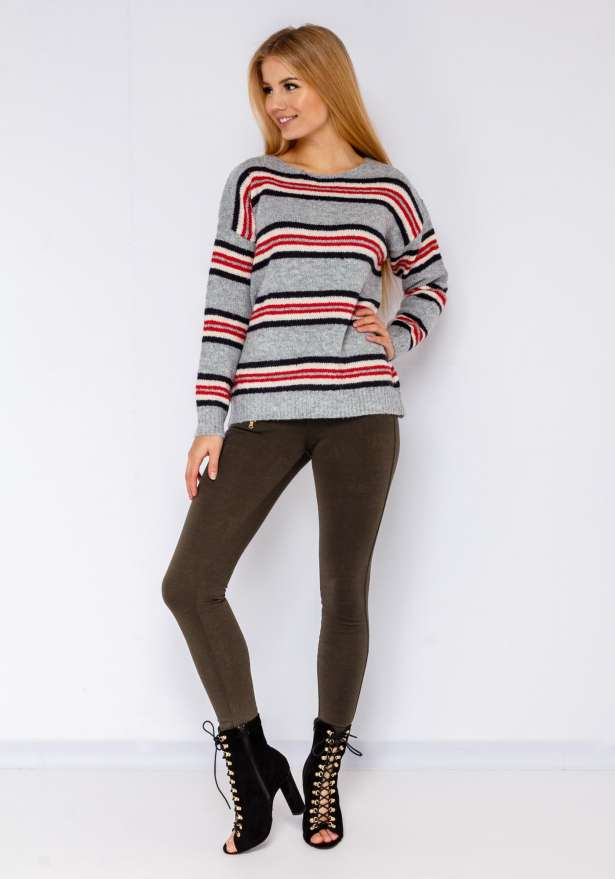 Perfect Fit Skinny Jeans In Khaki