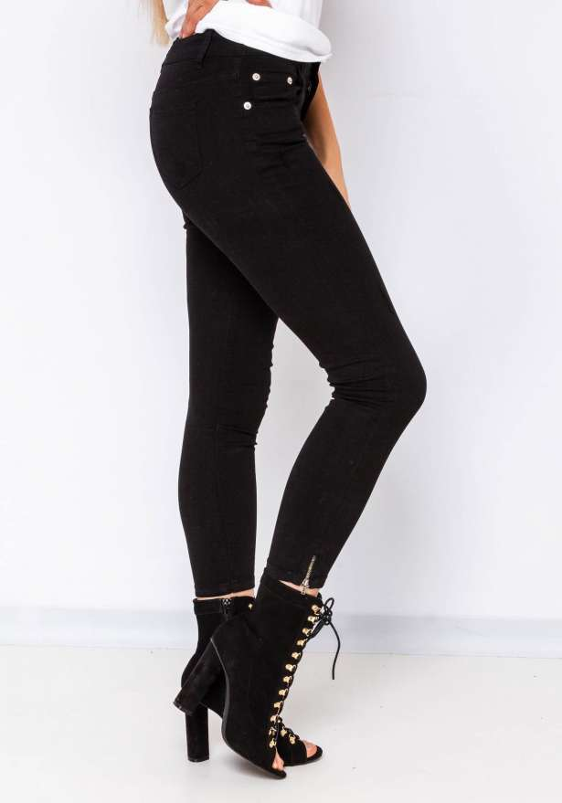 Super Classics Black Jeans Pants