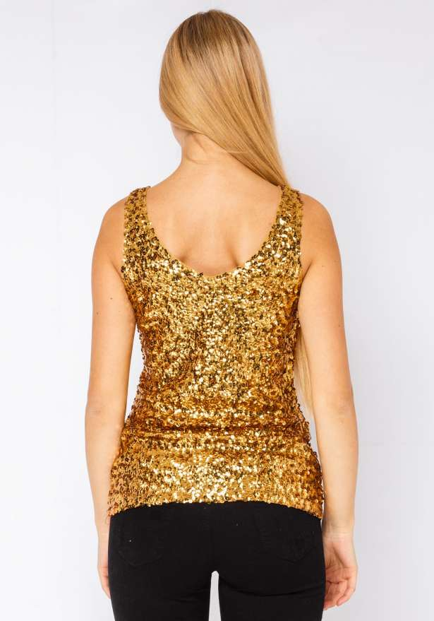 Dont Let The Night End Top In Gold