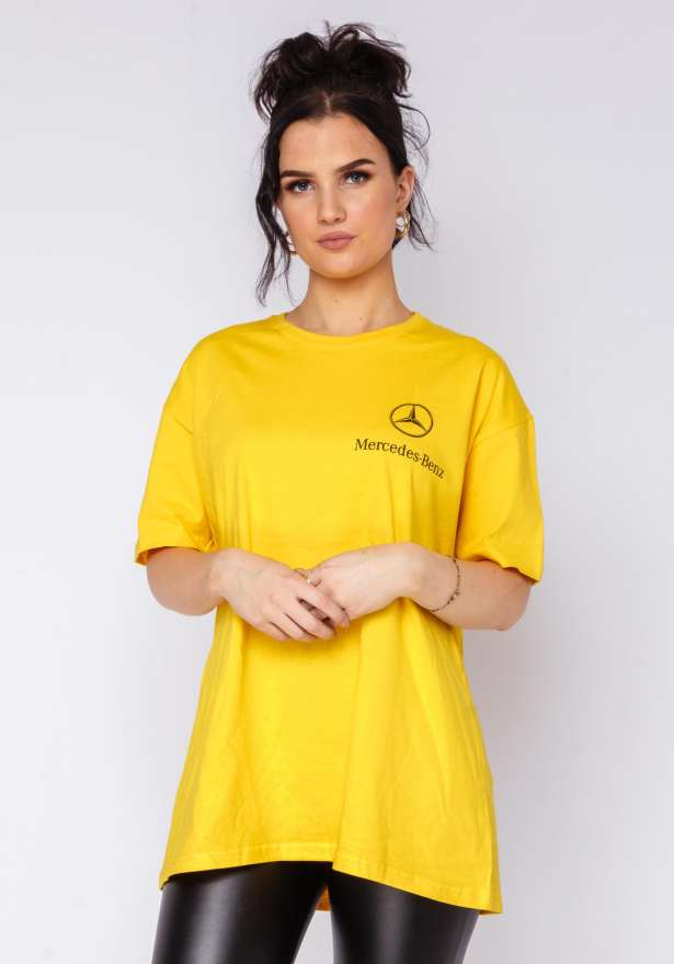 Mercedes B T-shirt In Yellow