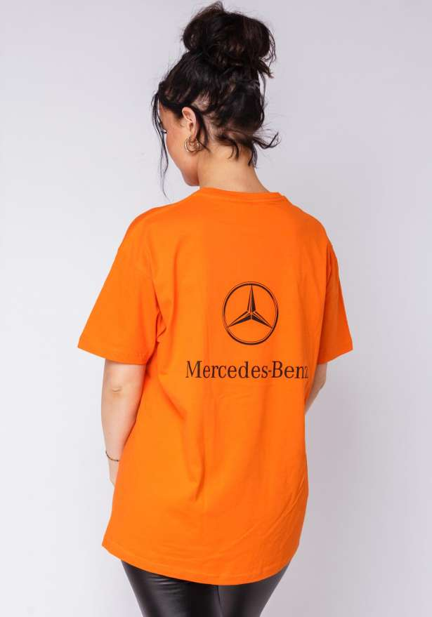 Mercedes B T-shirt In Orange