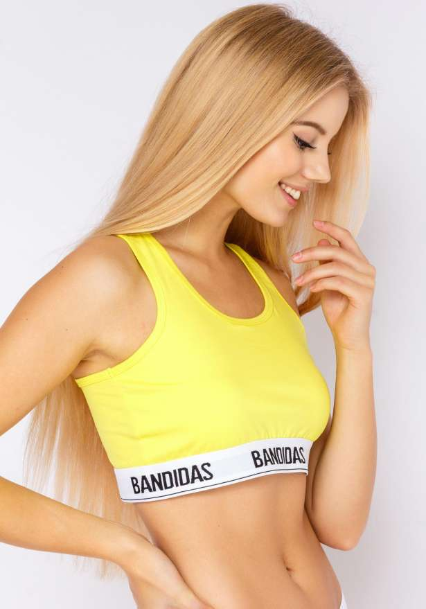 My Bandidas Bralette In Yellow