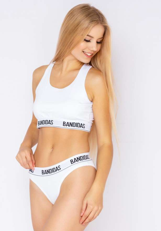 My Bandidas Underpants In White