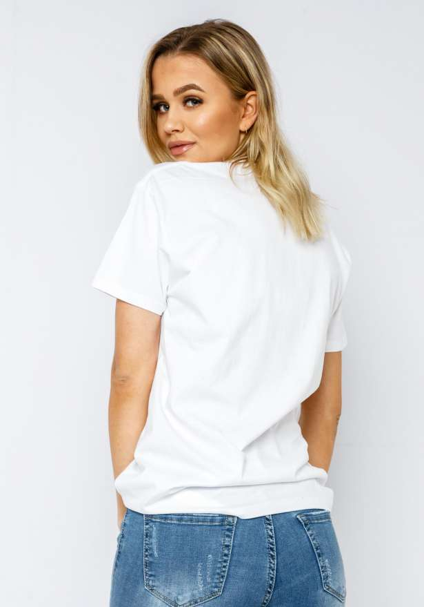Malibu Coconut T-shirt In White