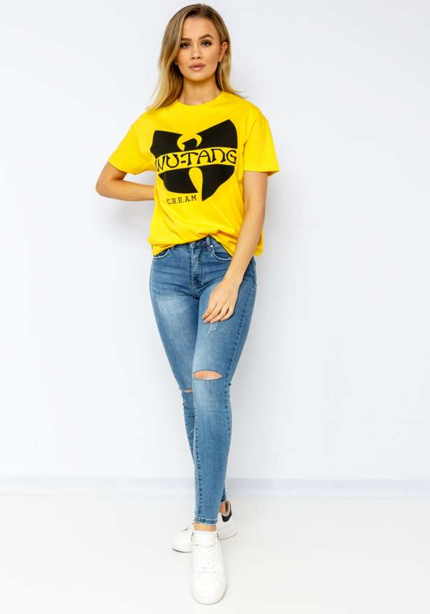 Wutang CREAM T-shirt In Yellow
