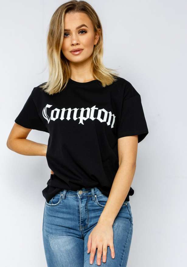 Compton T-Shirt In Black