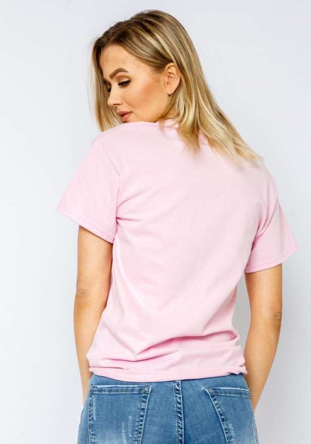 Compton T-shirt In Babypink
