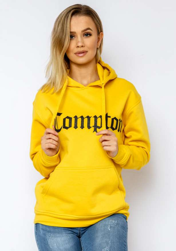 Compton Hoodie In Yellow