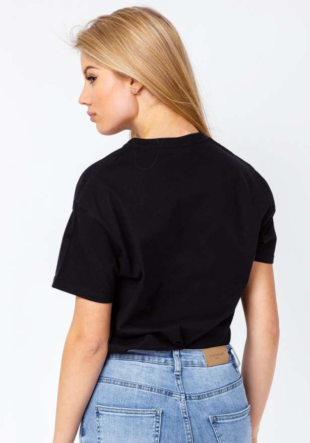 Bandidas Jeans T-shirt In Black