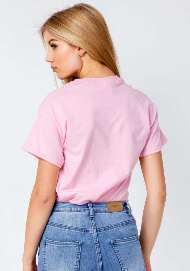 Bandidas Jeans T-shirt In Pink
