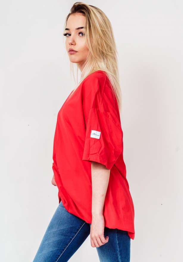 Minun Chromaticity T-Shirt In Red