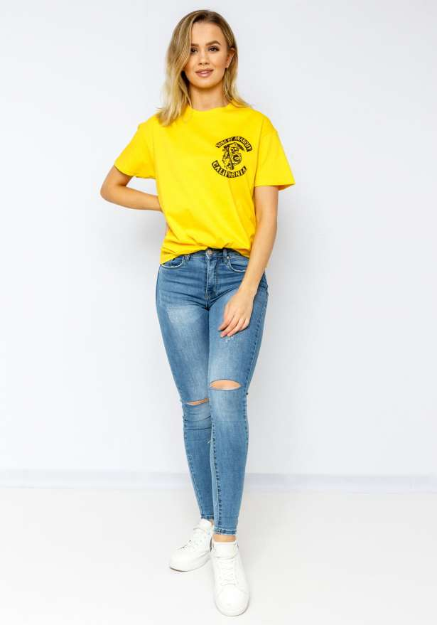 Sons Of Anarchy Bae T-Shirt In Yellow