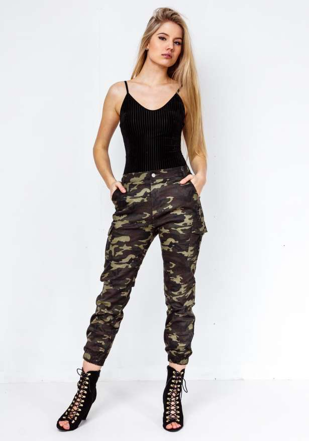 Premium New Camo Green Pants