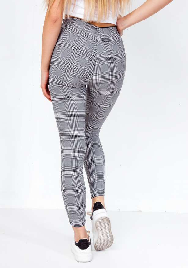 Zip Up Fiorebel Checkered Premium Pants