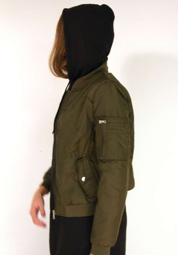 The Bomber Jacket In Green