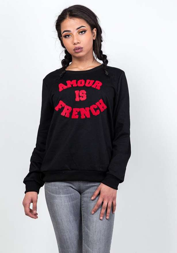 Amour Sweater In Black