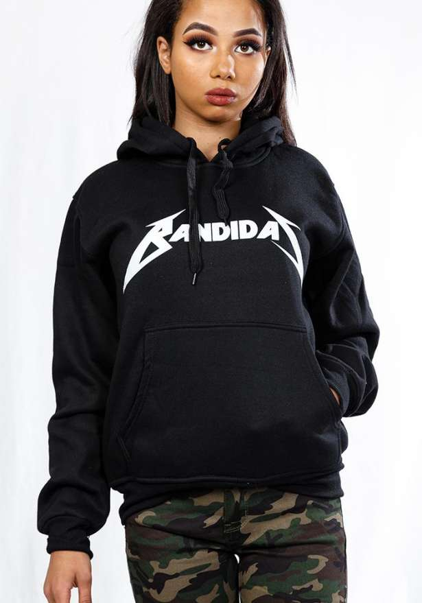 Master Of Puppets Bandidas Hoodie In Black
