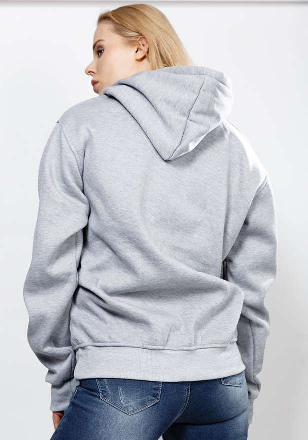 Bandidas Black Box Classic Fit Hoodie In Grey