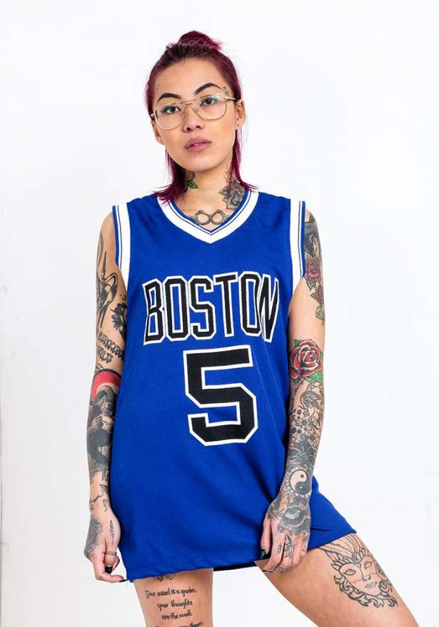 Boston 5 Tank Top In Blue