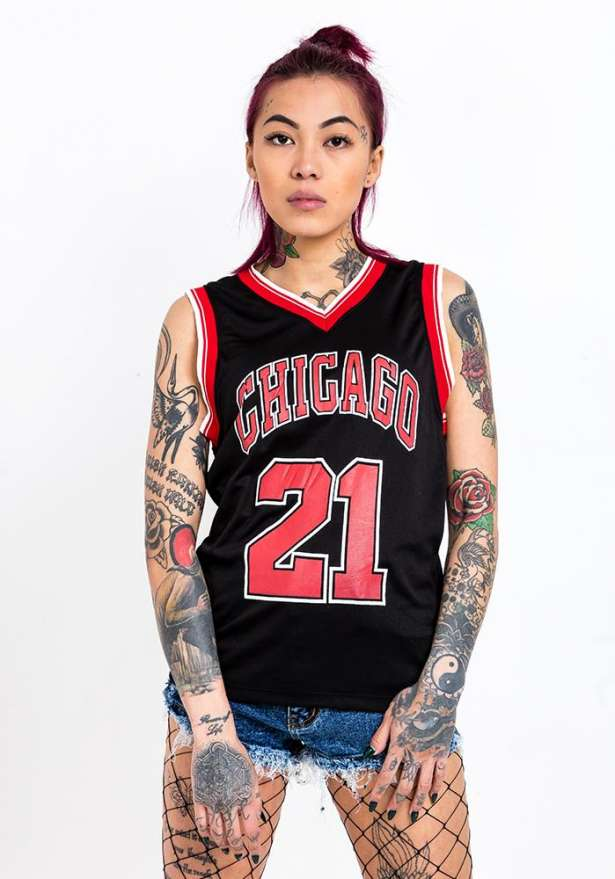 Chicago 21 Tank Top In Black