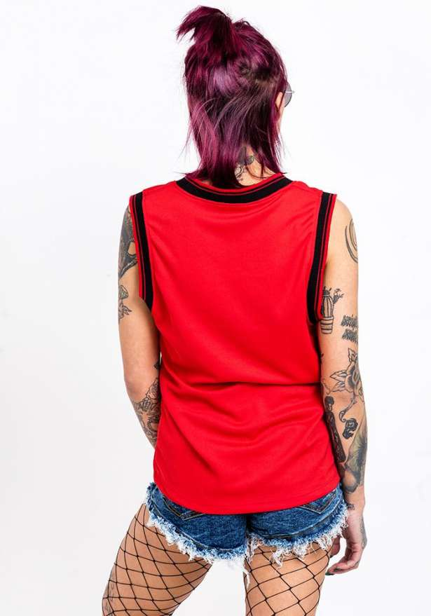 Chicago 21 Tank Top In Red