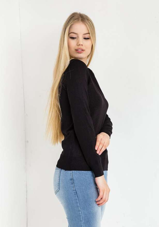 Angel Sweater In Black