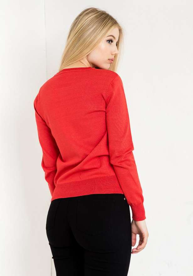 Angel Sweater In Red