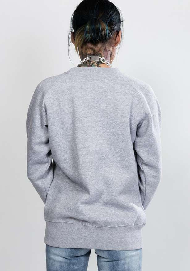 Bandidas Flagship Oversize Sweater In Light Grey