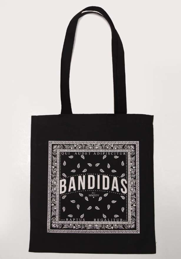 Bandidas Flagship Tote Bag In Black