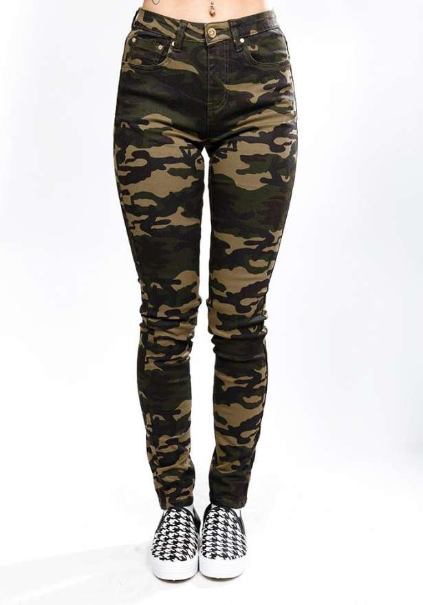 The New Classic Army Stretch Jeans - Camo