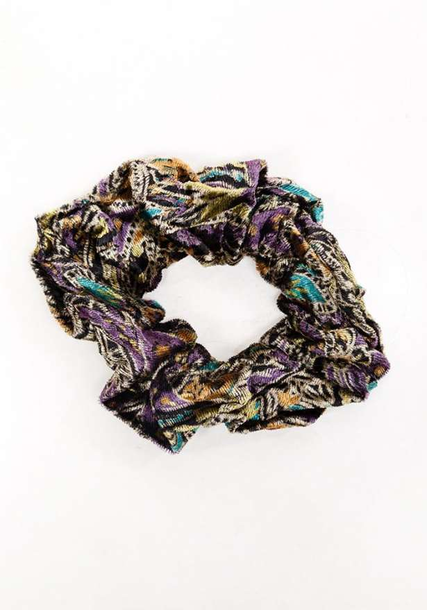 Scrunchie Hair Tie - Print Mix (2 Pcs)