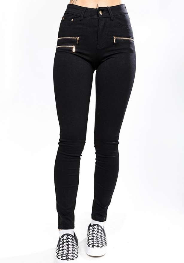 Perfect Fit Skinny Jeans In Black