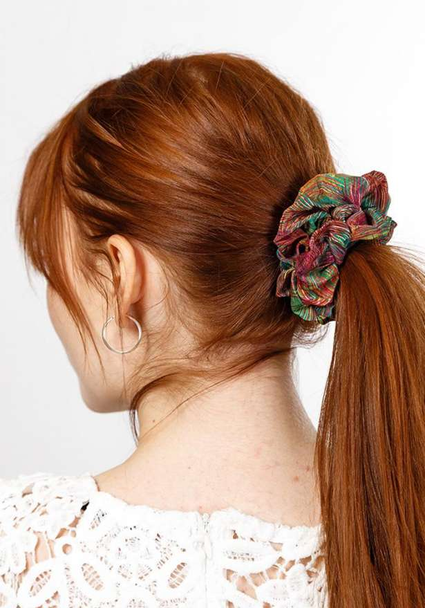 Scrunchie Hair Tie - Pattern Mix (2 Pcs)