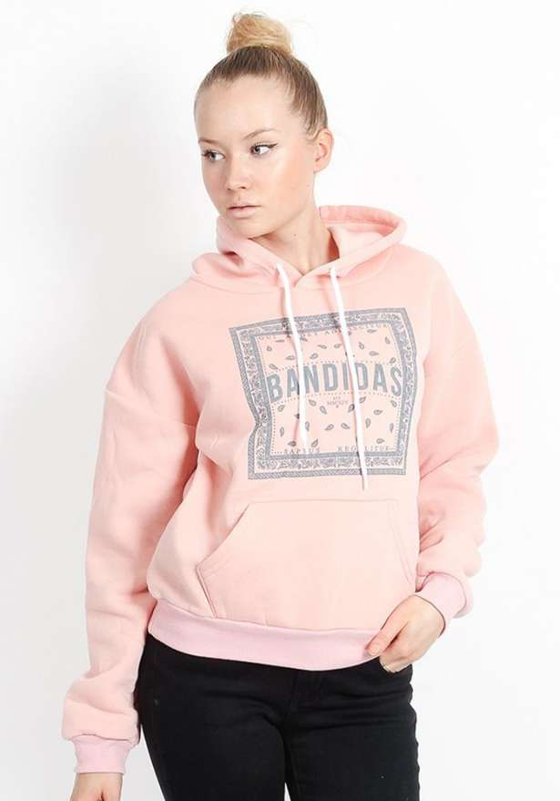 Pink Bandidas Flagship Classic Fit Hood