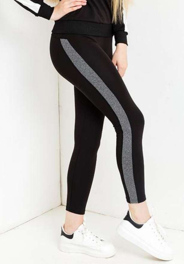 Sporty Leggings In Black